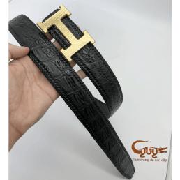 Thắt lưng bản 4.0 cm đan viền thủ công