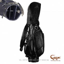 Túi chơi golf làm từ da cá sấu xịn - Hàng hiệu cao cấp