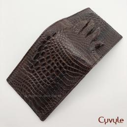 Ví nam da chân cá sấu cao cấp VCJ95122P