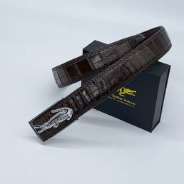 Thắt lưng da cá sấu handmade TC402HM