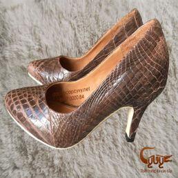 Bán giày nữ da cá sấu xịn, đẹp nhất 2016
