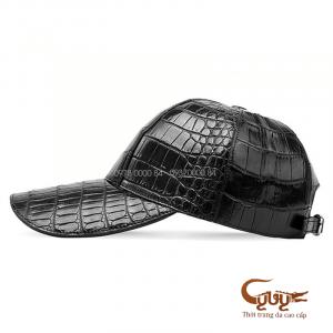 Mũ da cá sấu thật - hàng hiệu cao câps
