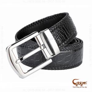 Thắt lưng da cá sấu handmade - TCGA401H