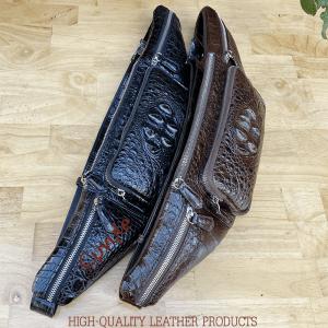 Túi bao tử da cá sấu cao cấp
