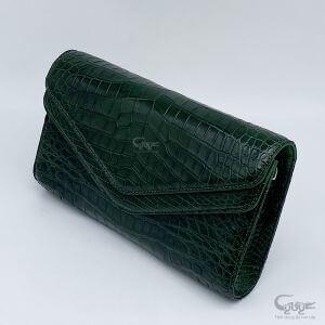 Túi da cá sấu có dây đeo BC2N18263