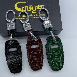 Bao da chìa khóa ô tô Audi