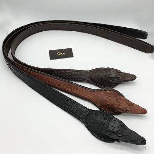 Thắt lưng nguyên đầu con cá sấu TCF402H