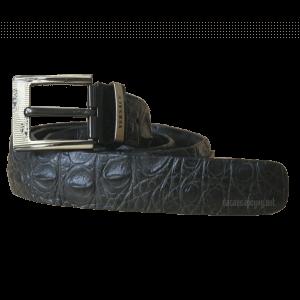 Thắt lưng da cá sấu màu đen