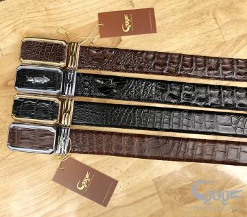 4 mẫu thắt lưng da cá sấu đẹp nhất, nhiều người mua nhất!