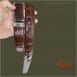Thắt lưng da cá sấu xịn màu mận chín - TC353