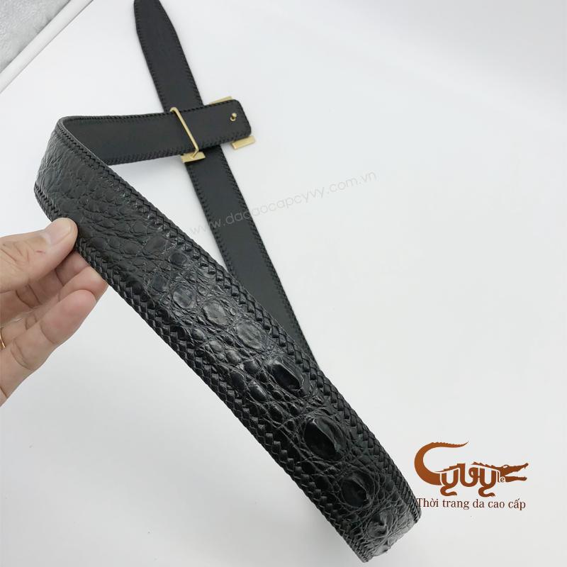 Thăt lưng ban 40 cm đan viên thu công - 4