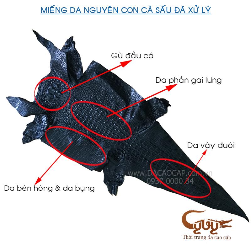 Thăt lưng da ca sâu gai đuôi - tcgd352 - 12