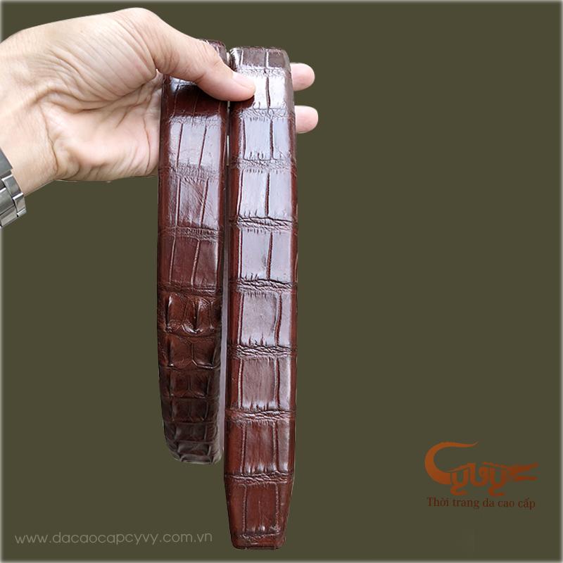 Thăt lưng da ca sâu xin mau mân chin - tcgd3531 - 4