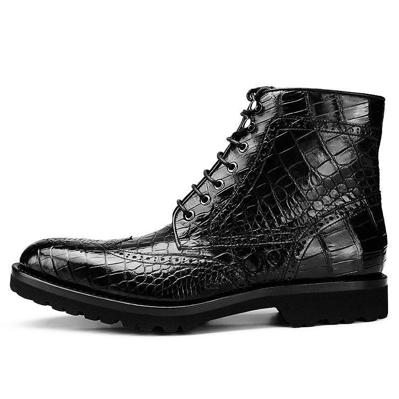 Giay boots da ca sâu cao câp - 4