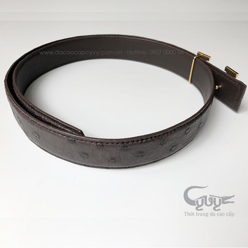 Thăt lưng da đa điêu ban 32 cm - 5