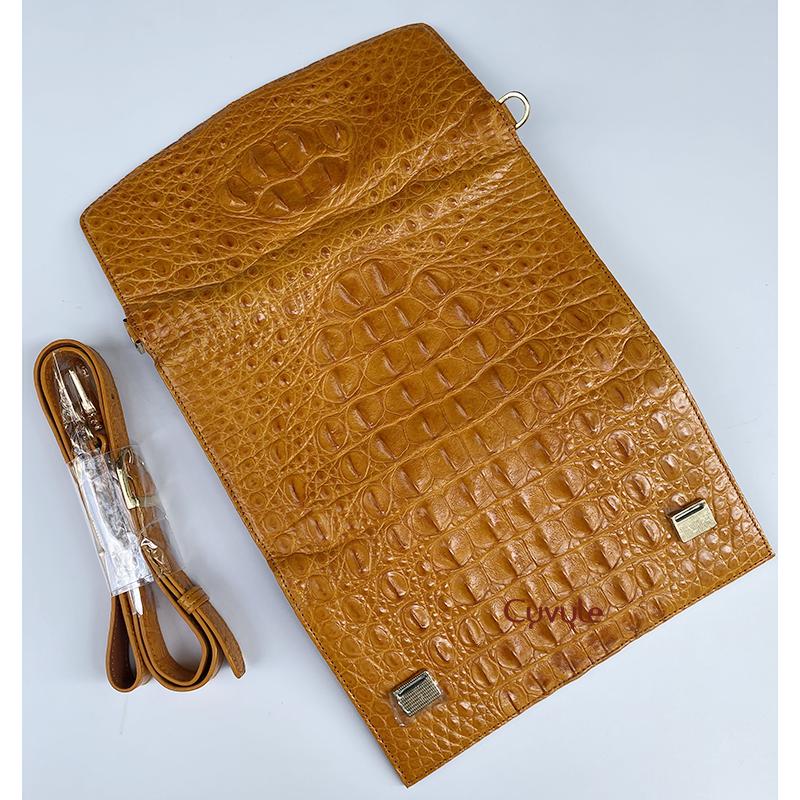 Túi đeo da cá sấu cao cấp bcllg3m4 - 4