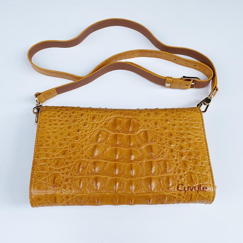 Túi đeo da cá sấu cao cấp bcllg3m4 - 6