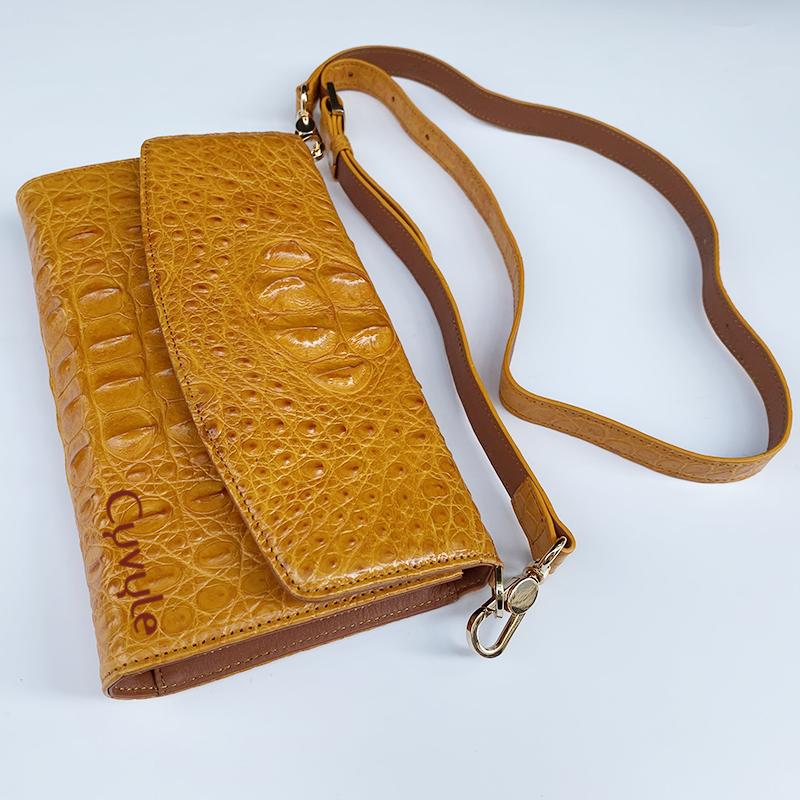 Túi đeo da cá sấu cao cấp bcllg3m4 - 7