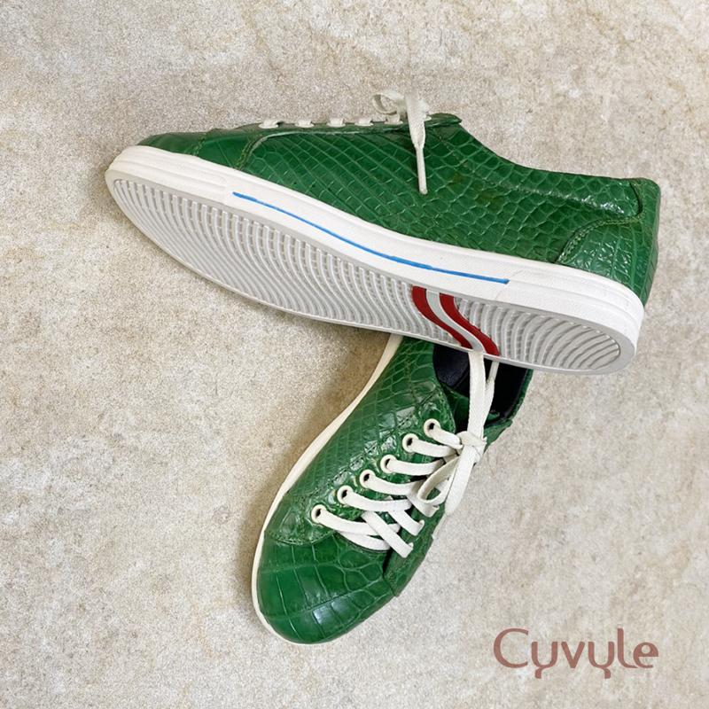Giày nữ da cá sấu cao cấp gbca - 8