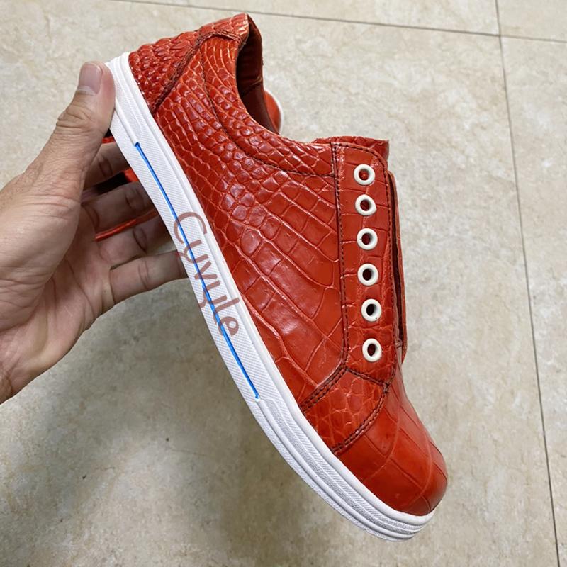Giày nữ da cá sấu cao cấp gbca - 7