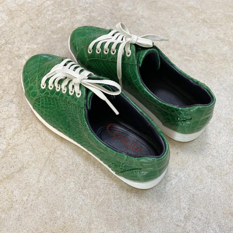 Giày nữ da cá sấu cao cấp gbca - 1
