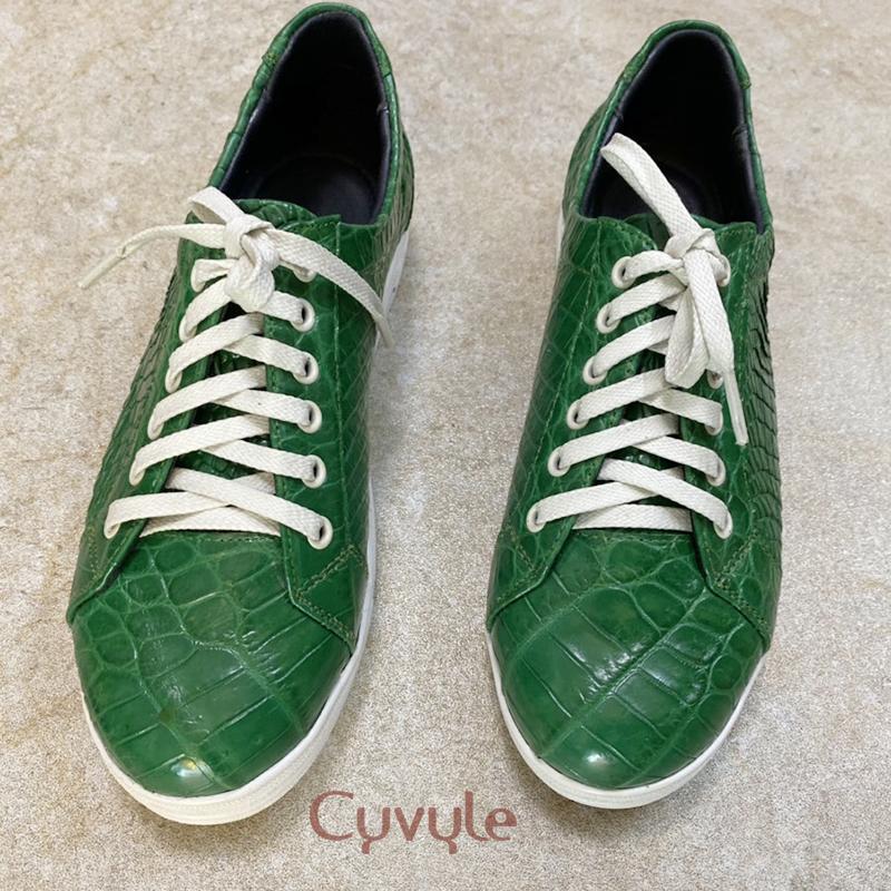 Giày nữ da cá sấu cao cấp gbca - 4