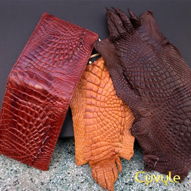Những sản phẩm độc đáo từ da cá sấu khiến nhiều người kinh ngạc - 53