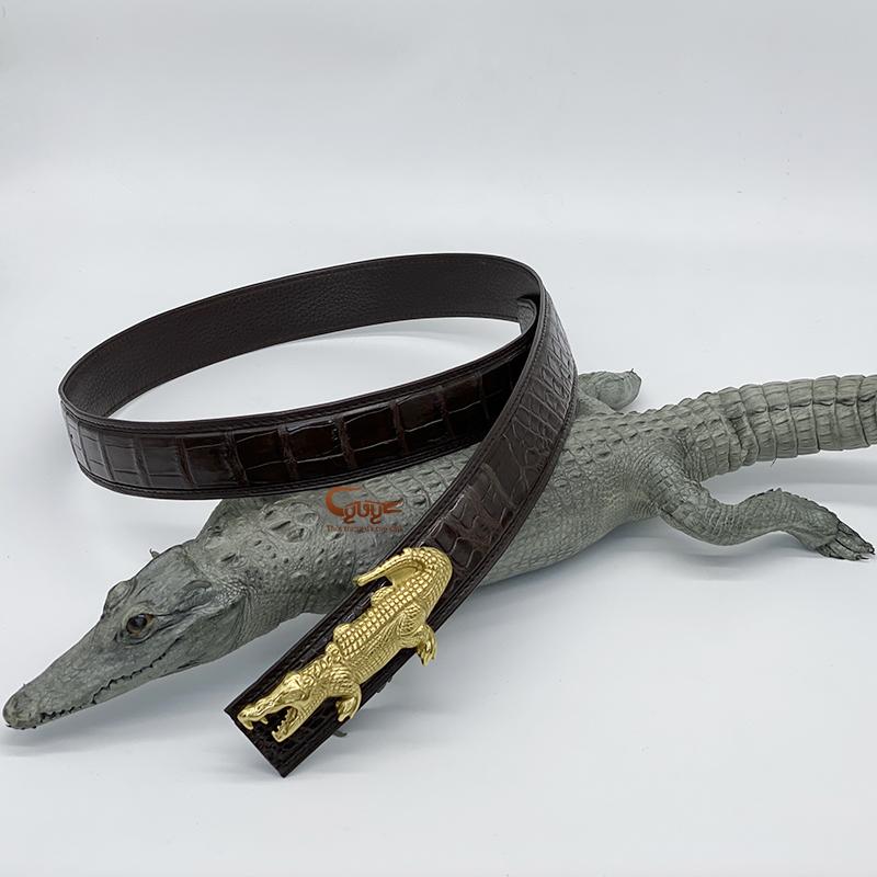 Thắt lưng da cá sấu tc402clm - 3