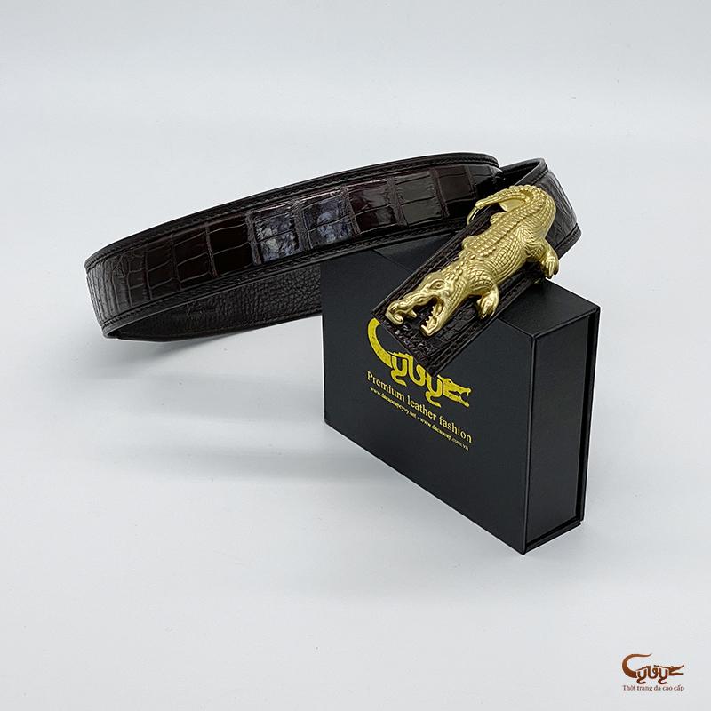 Thắt lưng da cá sấu tc402clm - 7