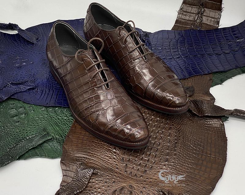 Giày da cá sấu cao câp gc-08d - 1