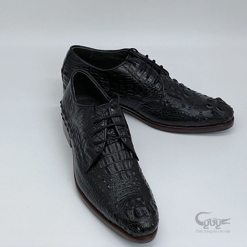 Giày da cá sấu cao cấp gc-01d - 3