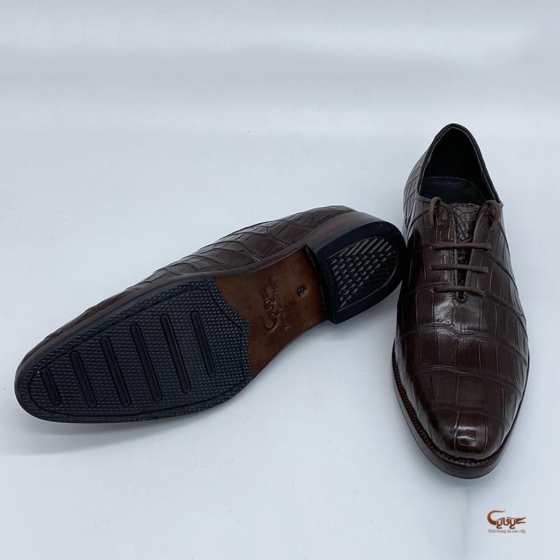 Giày da cá sấu cao cấp gc-08b1d - 2