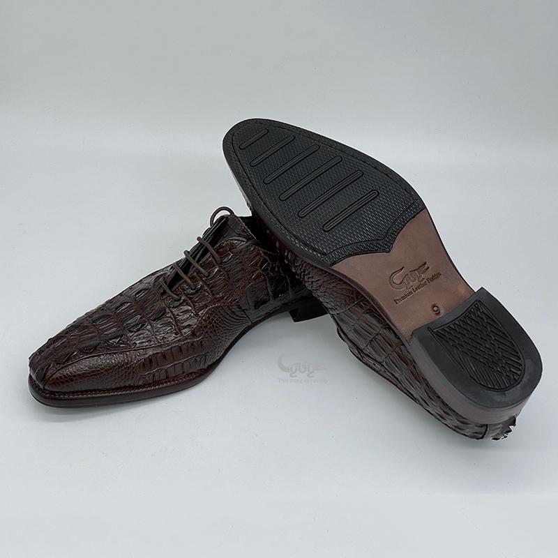 Giày da cá sấu cao cấp gc-02 - 2