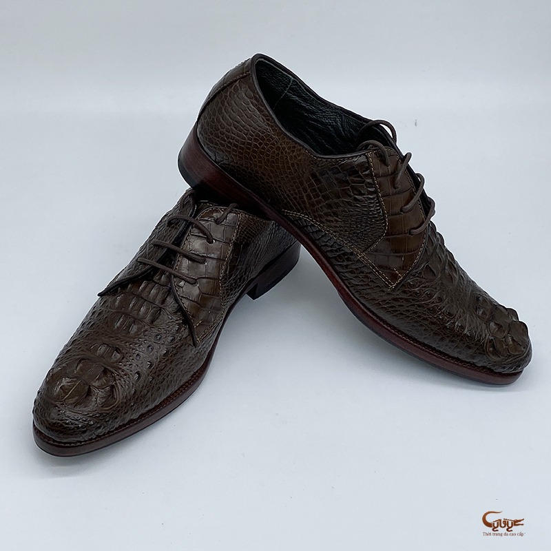 Giày da cá sấu cao cấp - gc-01bd - 5