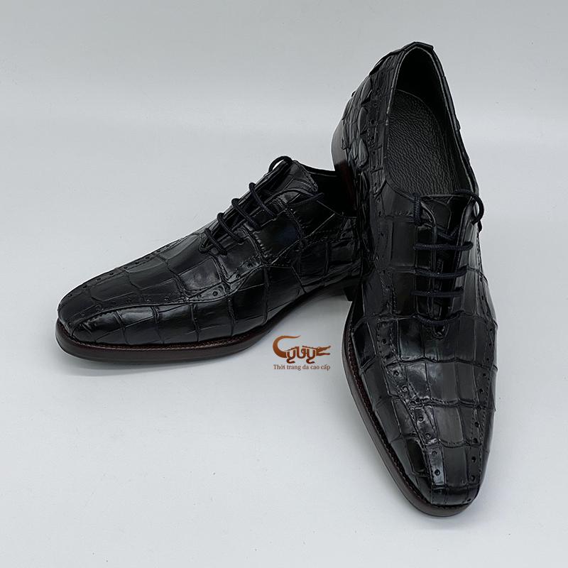 Giày da cá sấu gc-04d - 2