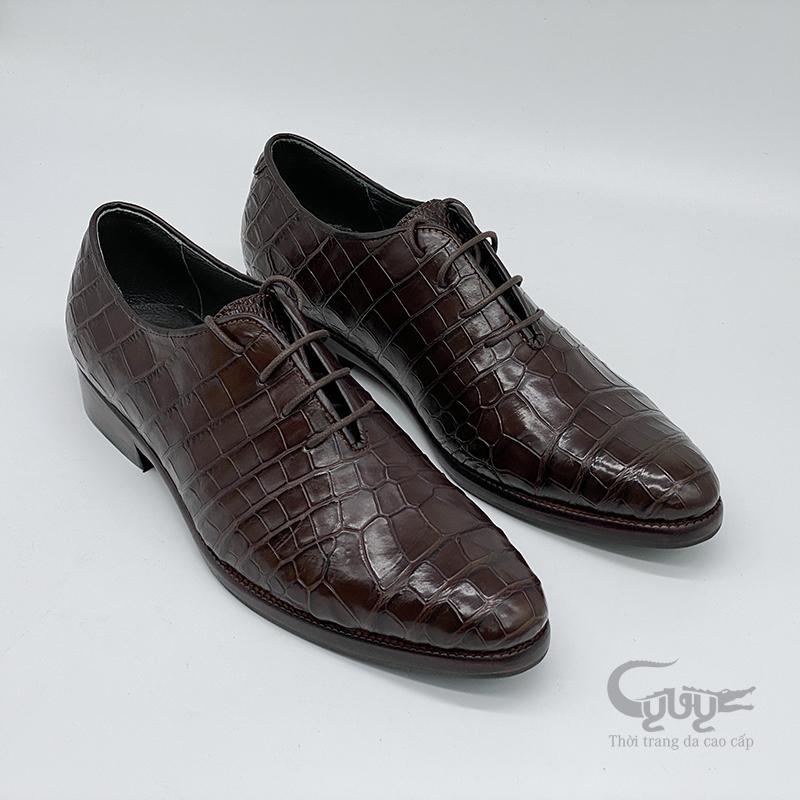 Giày da cá sấu cao câp gc-08d - 4
