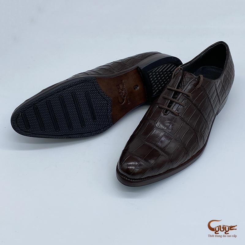 Giày da cá sấu cao cấp gc-08b1d - 3