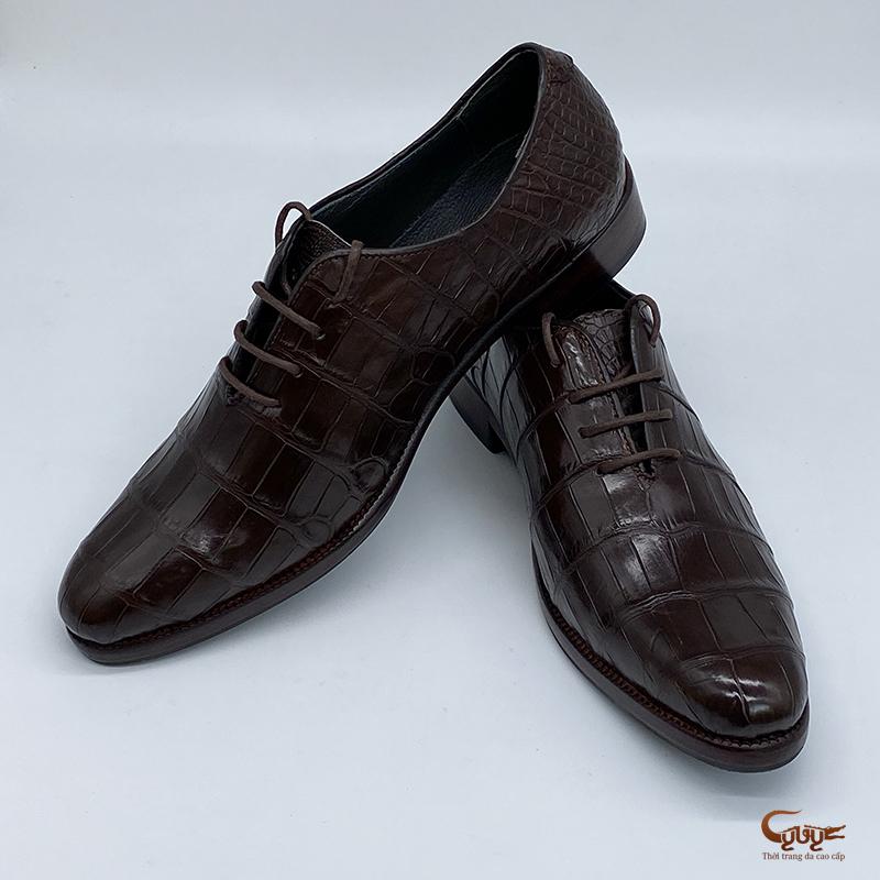 Giày da cá sấu cao cấp gc-08b1d - 4