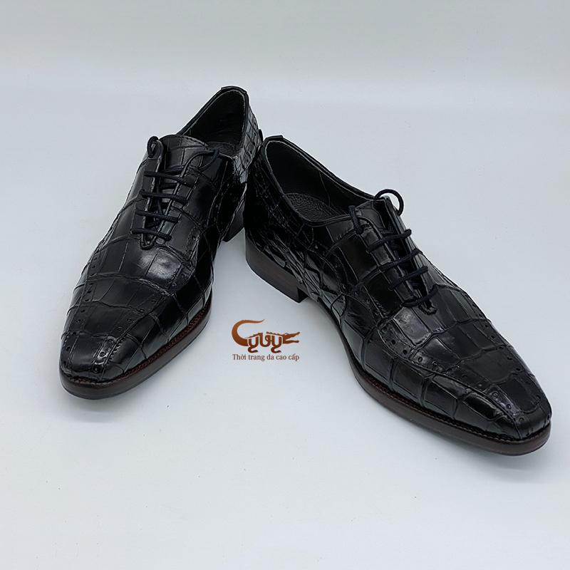 Giày da cá sấu gc-04d - 1