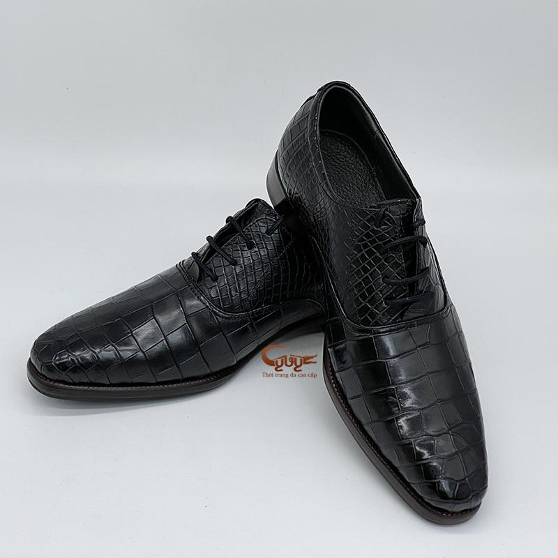 Giày da cá sấu cao cấp gc-07 - 4