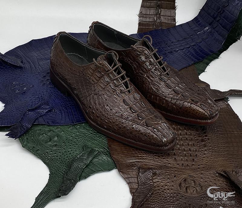 Giày da cá sấu cao cấp gc-02 - 1