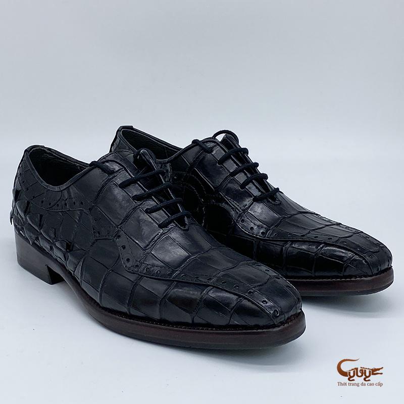 Giày da cá sấu gc-04d - 4
