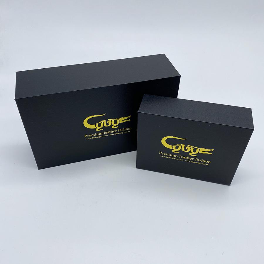 Bộ sản phẩm ví dây nịt handmade - 6