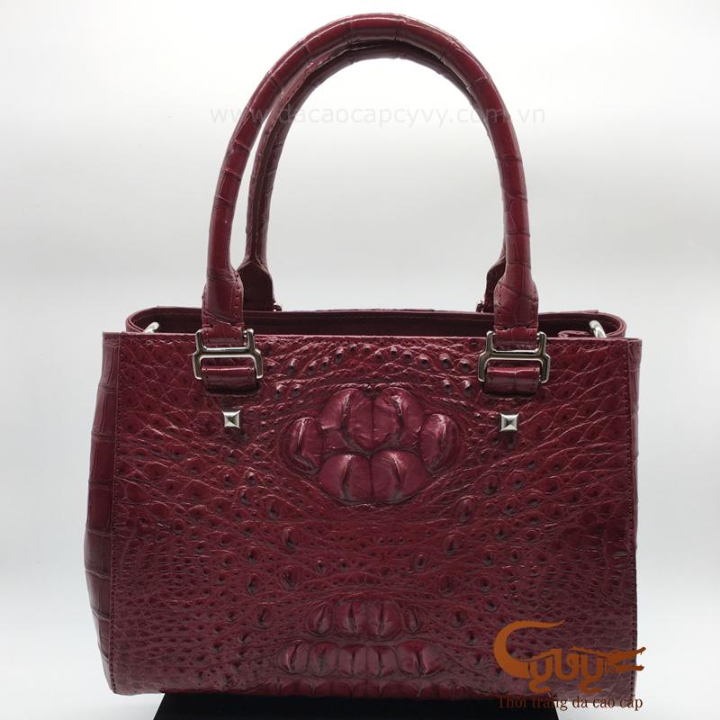 Túi xách da cá sấu cao cấp mẫu PRA