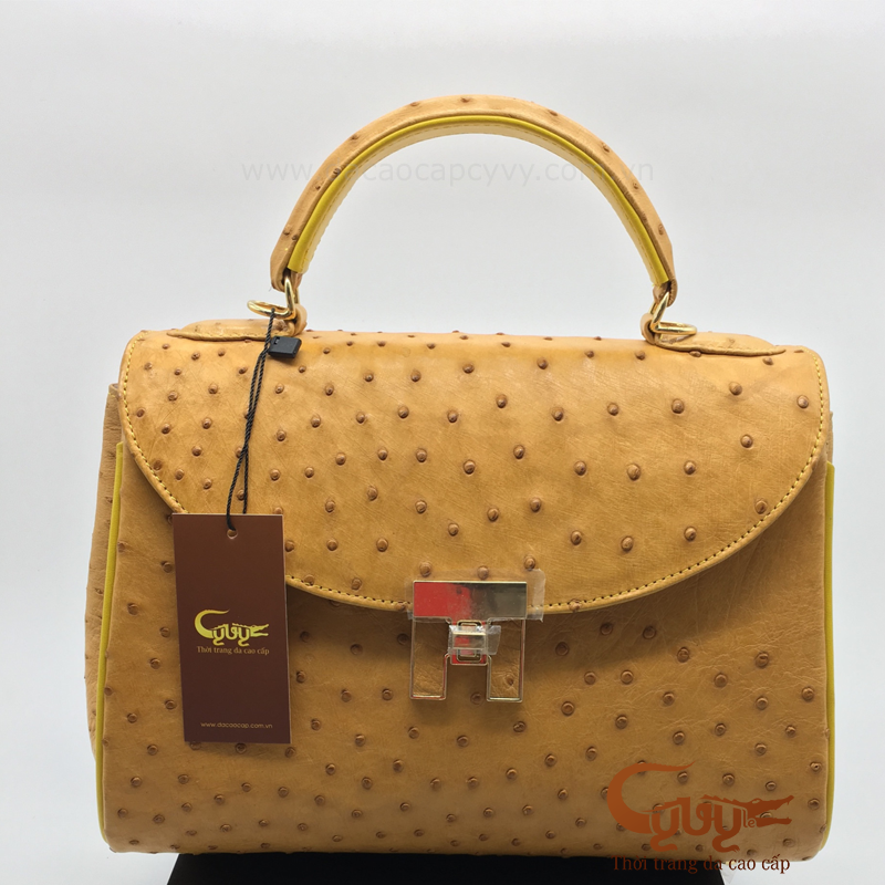 Túi xách nữ da đà điểu 702
