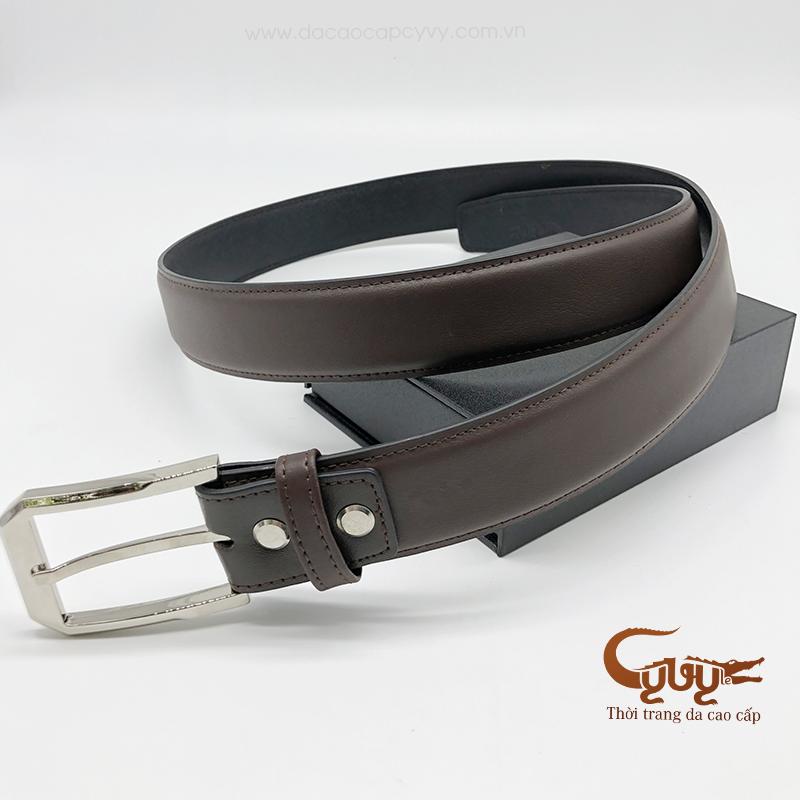 Thắt lưng da bò cao cấp mã - TB35B