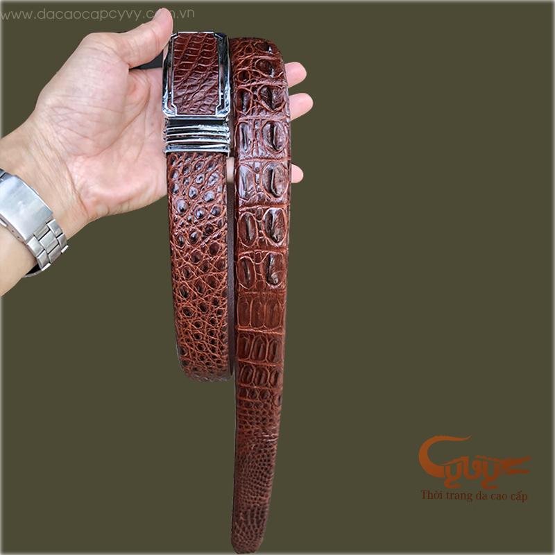 Thắt lưng da cá sấu thật mã TCGB3531