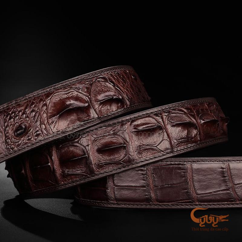 Thắt lưng da cá sấu cao cấp mã - TCLC401SP1