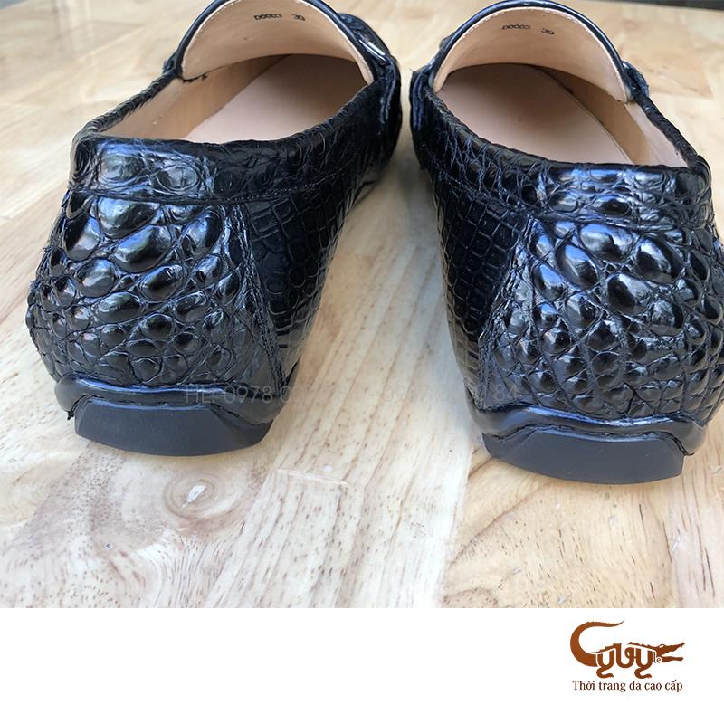 Giày mọi da cá sấu thật - hàng hiệu cao cấp