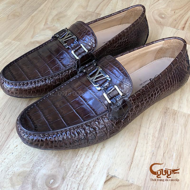 Giày da cá sấu cao cấp - GCL382N